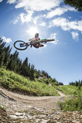 Mountainbiker Whip